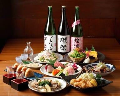 隠れ家個室・鮮魚と地酒 福田家 豊洲本店 コースの画像