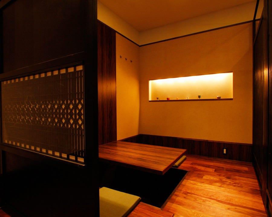 完全個室もご用意しております。