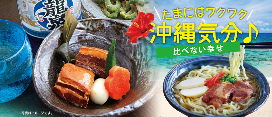 沖縄満喫気分をどうぞお楽しみ下さい!