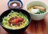 タコライス丼&そばセット