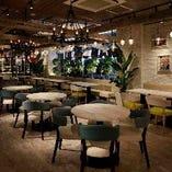 3★駅直結!開放感あるパティオに面した新宿アイランドタワーB1 歓迎会、送別会などの会社宴会に最適♪