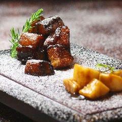 雪降り長芋の黒酢酢豚