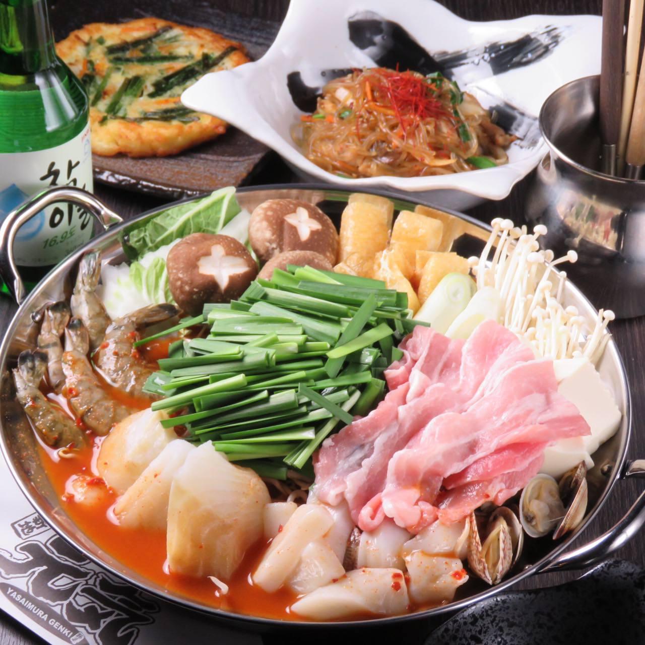 こだわりの海鮮チゲ鍋は、一度は食べてほしい自慢の味!