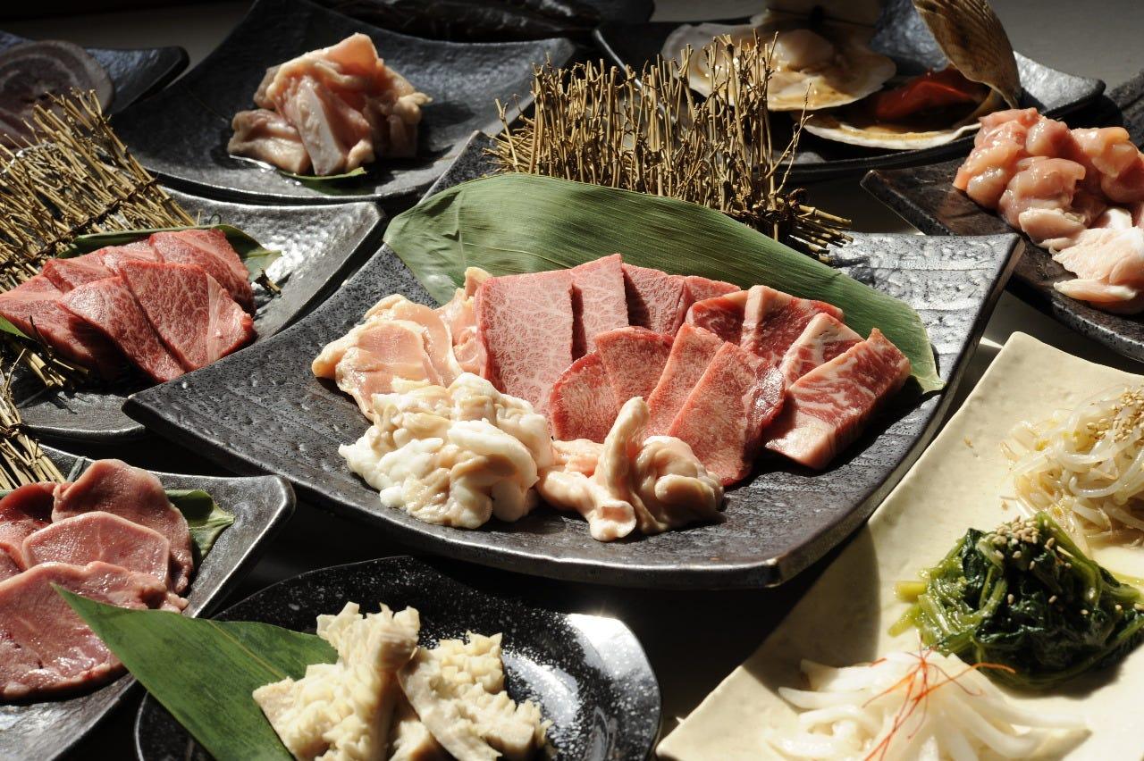【120分飲み放題付き】焼肉宴会 15品 5,000円(税抜)コース