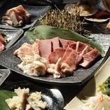 【120分飲み放題付き】焼肉宴会 13品 4,000円(税抜)コース