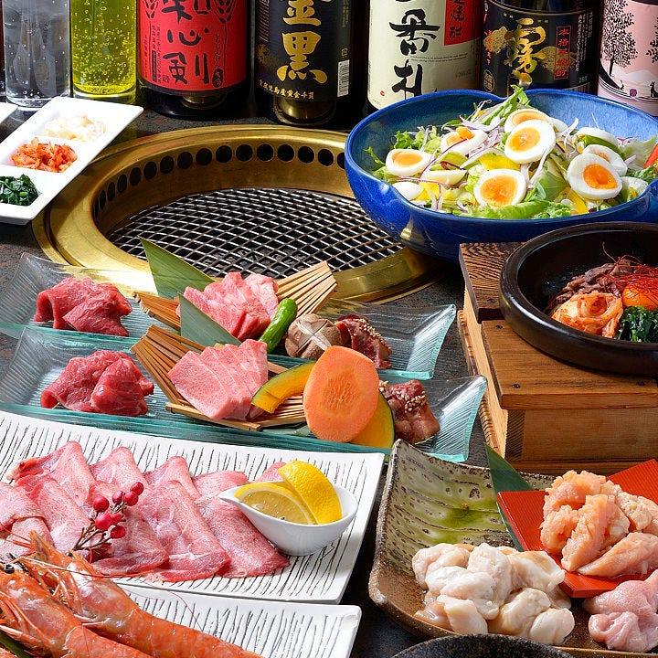 当日注文OK!焼肉や海鮮など名物料理