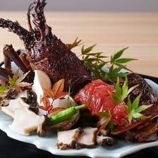 旬の味覚と和食の技を愉しむコース
