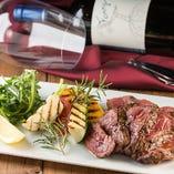肉料理と赤ワインの相性◎