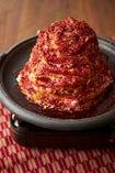牛カルビ&牛モツのマウンテン肉陶板