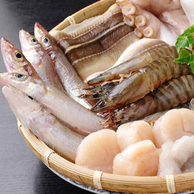 その日に仕入れる鮮魚