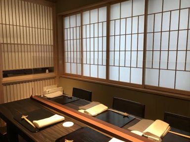 完全個室懐石 1日2組の料亭 柚こう 日本橋本店 店内の画像