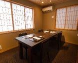 プライベートに配慮した完全個室。(各部屋完全に離れております)