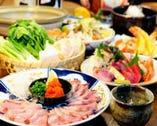 季節の食材を生かしたコースで 宴会をお楽しみください!