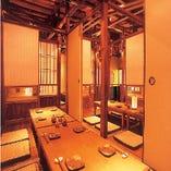 2階・個室宴会 最大40名様まで収容可能