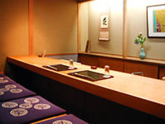 日本料理 竹茂  店内の画像