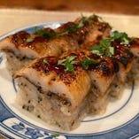 焼き鱧の棒寿司