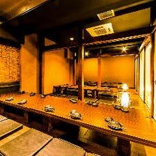 大人数様でのご宴会に最適な大型個室