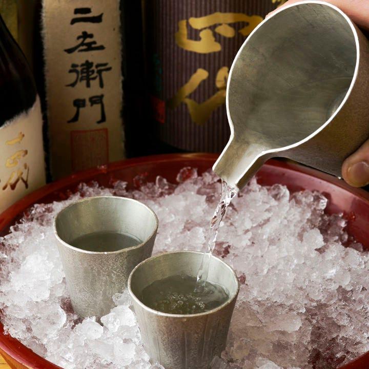 +550円で飲み放題をグレードアップ!日本酒なども飲み放題に