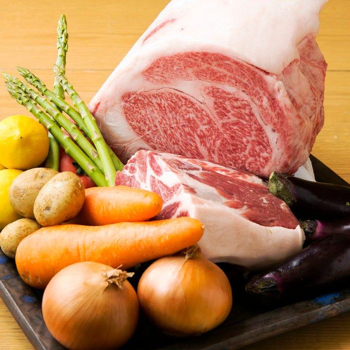 日本の四季を感じられる旬の食材を使用した至極の料理をどうぞ