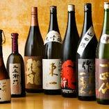 日本酒は約30種ご用意