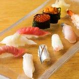 おまかせ寿司10種盛り