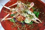 赤座海老のオーブン焼き