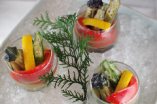 夏野菜のお浸し 3種の味わい