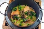 銀鱈の鉄釜飯