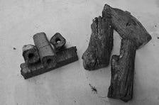 原木備長炭を使用