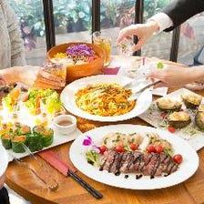 【あの日に戻ってお祝いプラン①】お祝いセット+大皿料理+飲み放題