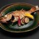 旬の焼き魚・煮魚日替わり。のどぐろ・メバル・カレイ・ブリなど