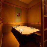 完全個室は2名様からご利用可能!デートや接待にも最適。