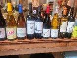 豊富なビオワインをお楽しみ頂けます。グラス600円~