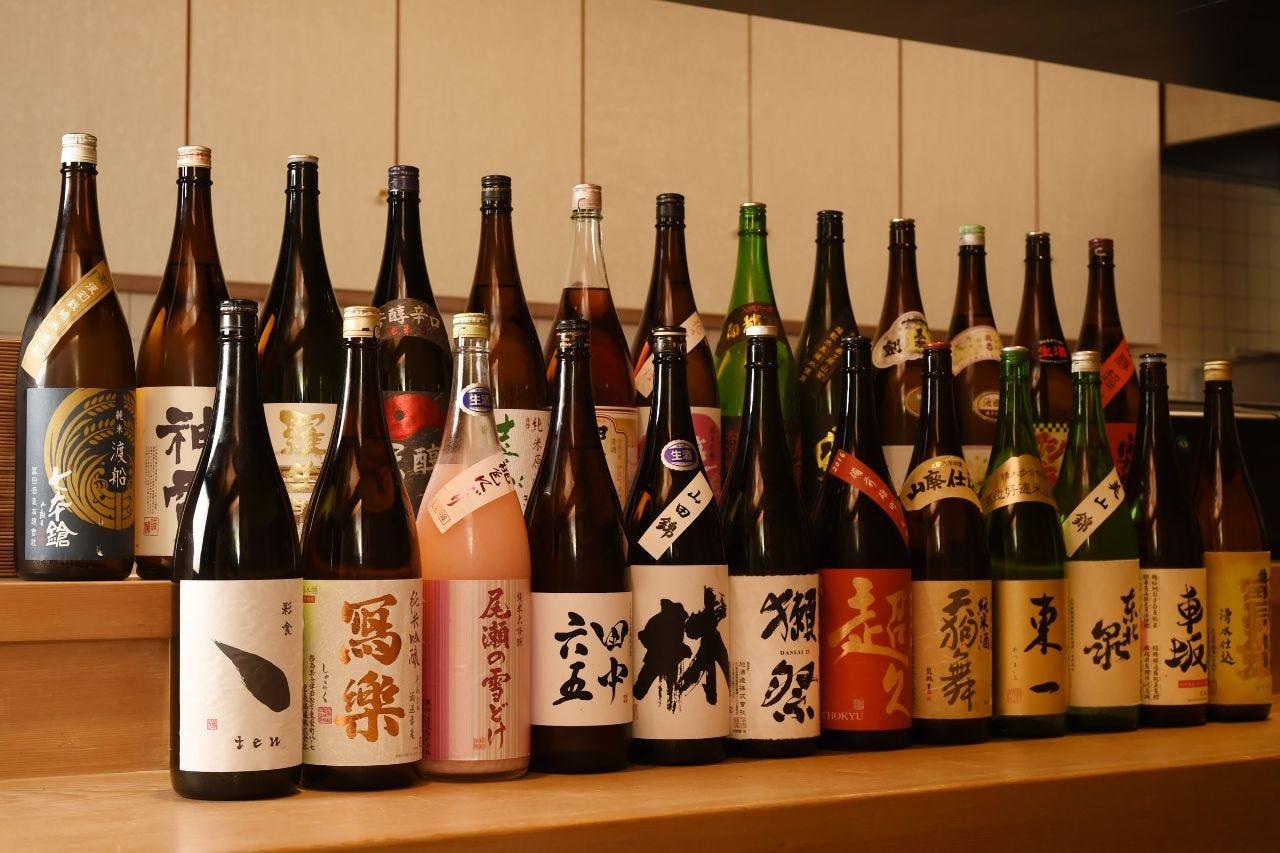 風味豊かな日本酒をご用意!