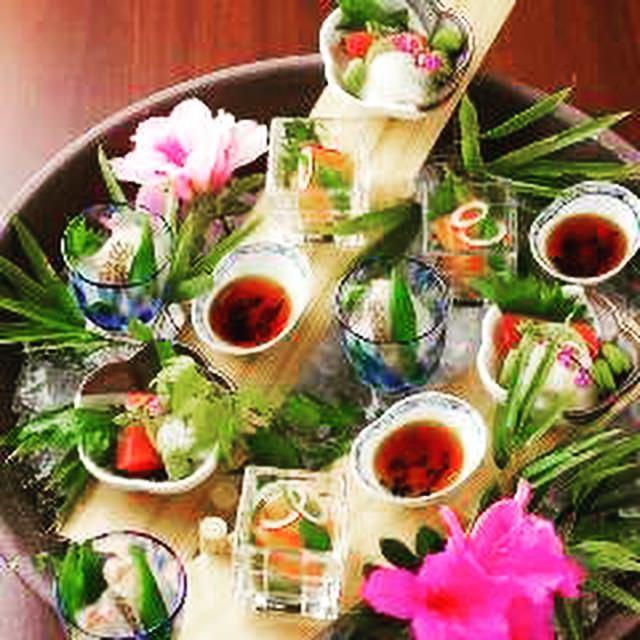 日本酒と料理の相性を楽しむ