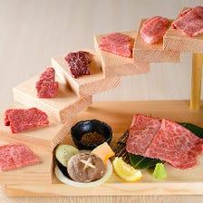 雄楽八ノ段 当店で一番大きな肉盛りです!味もインパクトも間違いなし!