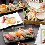 寿司懐石コース