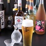 日本酒や焼酎、ハイボールなど多彩なドリンクをご用意しております。