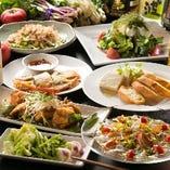 地産地消、地場の野菜・魚を使用した料理です。少人数宴会から貸切宴会まで各種宴会にご利用頂けます!当店自慢の地野菜・地魚を使用した料理をご堪能下さい。彩り豊かな三浦半島の野菜を使い、旬なものを中心にご提供致します。四季折々の豊かな味わいを感じられるそんなお店を目指しております。