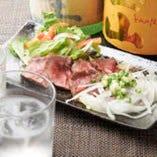 焼酎や日本酒との相性も抜群の和牛料理はまさに絶品の一言です!