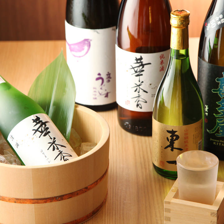 肥料から手作りして育て上げた米で醸した特別な純米酒「華米香」