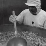 創業者直伝のレシピを守り続ける水たきスープ