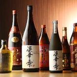 オリジナルの芋焼酎「凛華の雫」他各種