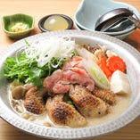 手羽先餃子鍋【スープが選べる】