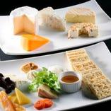 チーズ盛り合わせ【各地】