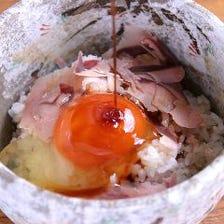 金目鯛の煮汁卵かけご飯