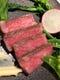 A5ランク鹿児島産黒毛和牛、フォアグラ脂で低温ポッシェ