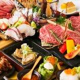 普段の食事や記念日デートにも!各種宴会におすすめのコース充実