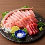 九州各県で取れた近海、生本マグロ【奄美】