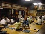 【1階】桟敷(さじき)席 江戸時代の雰囲気が味わえます。
